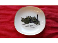 Weatherby Hanley England Royal Falcon Ware dish - Aveling & Porter Traction Engine, good condition