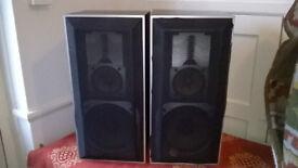 Pair of Jamo Dynamic D3E Speakers