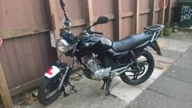 Yamaha ybr 125 SWAP FOR 400/600cc