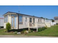 STATIC CARAVAN FOR SALE. DECKING INCLUDED NEAR GREAT YARMOUTH IN NORFOLK. NOT SKEGNESS/ESSEX