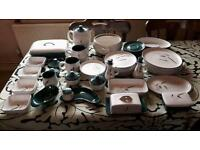 Denby Green Wheat collection