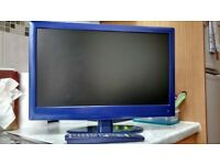 """Logik 22"""" HD ready 1080p LED iDTV tv and dvd combo with remote"""