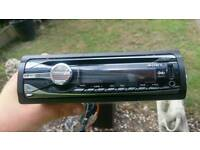 Sony cd player usb and aux