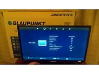 """Brand new BLAUPUNKT 32"""" HD Ready LED TV with bult in Freeview"""