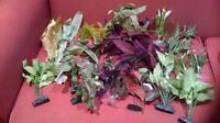 Aquarium SILK & Plastic Plants for sale!