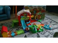 Vtech toot toot animal farm great condition