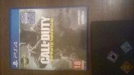 CALL OF DUTY INFINITE WARFARE PS4 (MINT CONDITION)