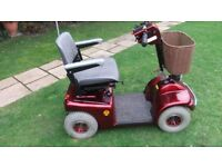 Mobility Scooter - Shoprider Deluxe - collect from Kenilworth CV8, Deliver within 15miles for petrol