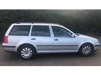 CHEAP DIESEL VW GOLF ESTATE SE TDI 1.9L (2001) full Year Mot