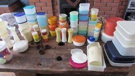 Huge Job Lot of Vintage Tupperware