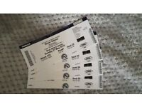 4x Tickets Bryan Adams 27th May Leeds Arena
