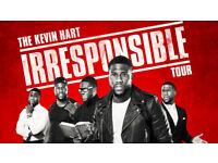 2 x Kevin Hart Tickets The Irresponsible Tour Arena Birmingham Thu Aug 30 2018 - 7:00pm Floor Seats