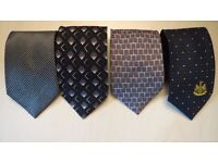 Used 4 men's ties for £ 5 each
