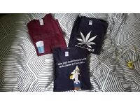 Joblot of Men's Clothes - Shirts, T-shirts and Polo Shirts - Sizes Large to X Large