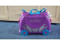 Trunki Ride-on Suitcase - Purple Penelope Princess