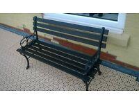 pair of garden benches