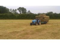 2 or 3 people wanted to collect hay bales from our fields. £10/hr