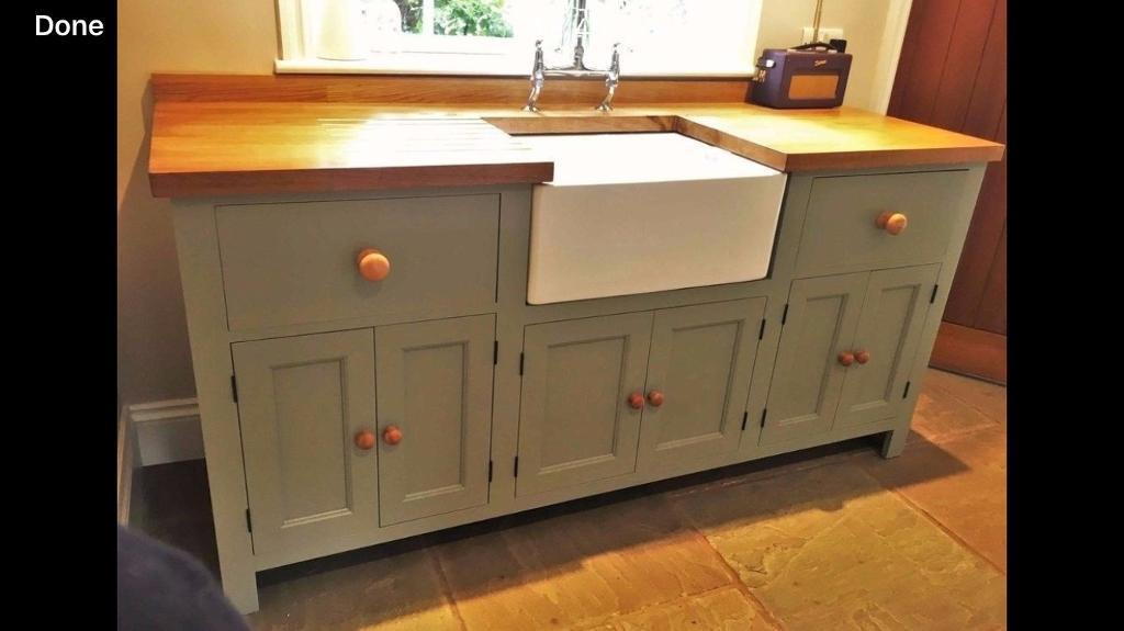 Wood living kitchen units solid redwood pine