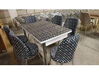 🥰✨INTRODUCTION OFFER SALE🔥🔥 ON EXTENDABLE DINING TABLE AND 6 CHAIRS WITH DELIVERY OPTIONS