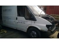 FORD TRANSIT MK6 BREAKING FOR PARTS AND SPARES.THIS ADD ONLY FOR SPARE WHEEL WITH TYRE