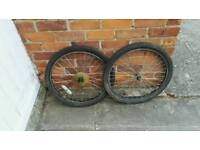 24inch mountain bike wheels and tyres