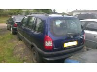 Vauxhall Zafira 2.0L DTI (2004) N/S Rear Light Cluster- IN GOOD USED CONDITION!