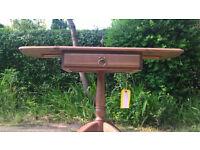 A New Chetsworth Elm Drop leaf Side Table.