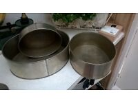 Oval baking tins
