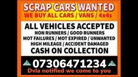 ♻️ SELL MY CAR VAN BIKE FOR CASH ANY CONDITION SCRAP WANTED FAST COLLECTION TODAY GRAYS