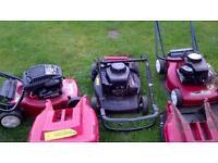 3 mountfield petrol lawnmowers spares repairs