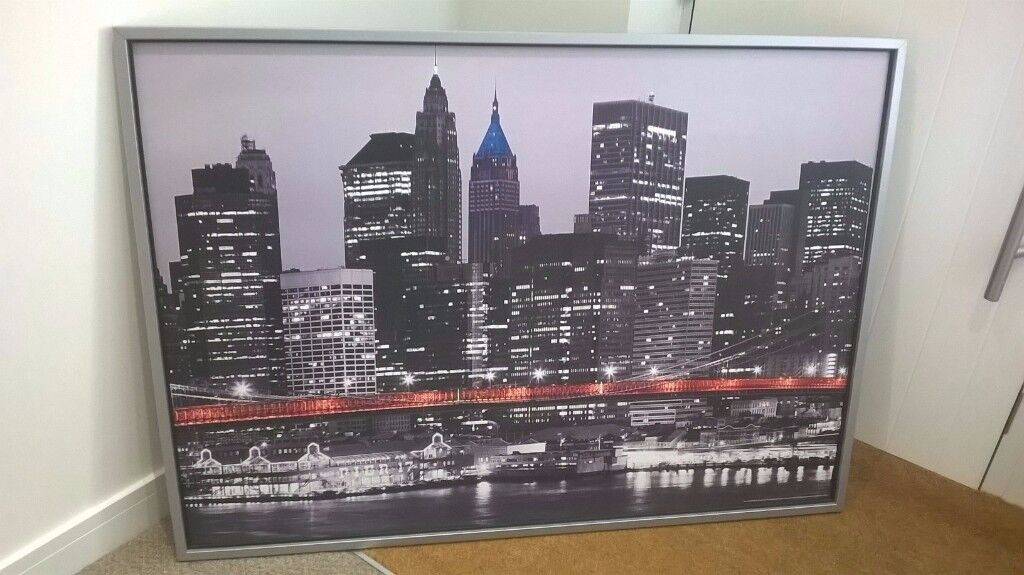 Ikea Picture for sale - New York Skyline