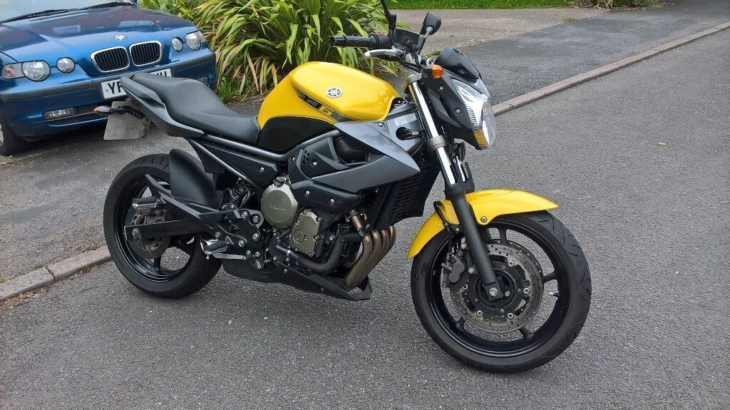 yamaha xj6 n 600cc 2009 yellow in bromsgrove worcestershire gumtree. Black Bedroom Furniture Sets. Home Design Ideas