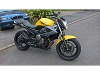 Yamaha XJ6 N , 600cc , 2009 , Yellow