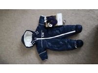 newborn winter suit and shoes