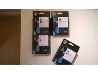 HP Ink Cartridges FULL set