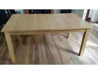 Ex Oak Furniture Dining Table