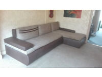 L Shaped Corner Sofa Bed - Mint Conditions