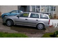Vauxhall Astra Estate, 3 months MOT, Good Runner, Selling as Bought Another Vehicle