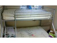 kids bunk bed and mattress