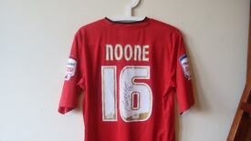 Signed Craig Noone shirt