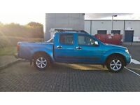 Nissan Navara Pick Up ,2007 Blue, MOT until 17 March 2017, mileage 104000.