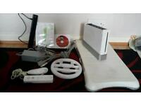 Nintendo Wii Console and attachments - Works fine