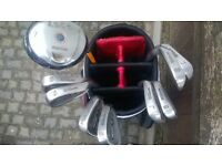 Wilson Pro Staff Irons & Dunlop Bag & Dunlop 7 Fairway Wood