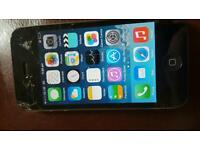 Iphone 4 cracked screen