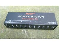 Power Supply for guitar pedals
