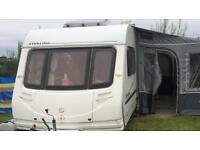 Sterling Europa 600 6 birth Caravan