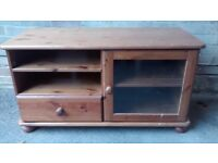 Pine Television Table