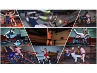 Live Family-friendly Professional Wrestling in Livingston