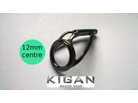 CARP ROD Tip Ring GENUINE KIGAN 12mm Centre Fitted while you wait M32 Manchester