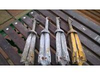 2.3kg / 5lb Grapnel anchors
